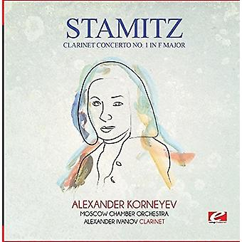 Koncert klarnetowy Nr 1 F-dur [CD] USA Stamitz - import