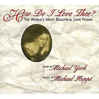 York/Hoppe - hvordan jeg elsker dig? [CD] USA import