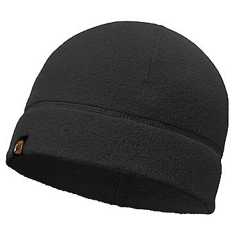 Buff Polar Fleece Beanie - Black