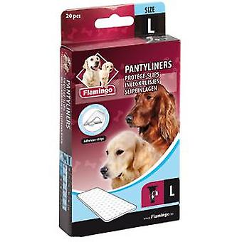 Flamingo Sanitary Towel L (4/5) 20 Unt. (Dogs , Grooming & Wellbeing , Diapers)
