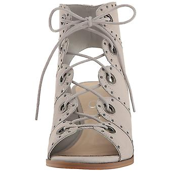 Jessica Simpson Womens Ryanna Leather Open Toe Casual Mules Mule Sandals