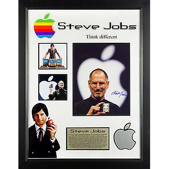 Steve Jobs - Signed Custom Framed Photo Collage