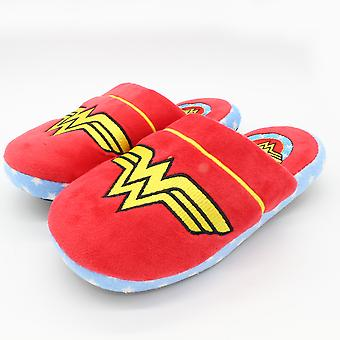 Wonder Woman Retro DC Comics Womens Slippers