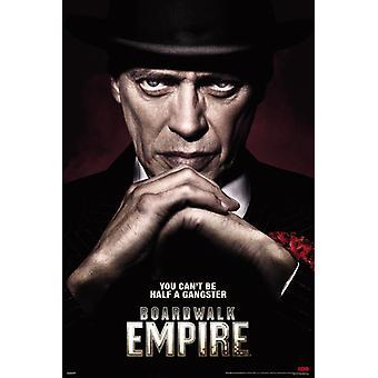 Boardwalk Empire - Half a Gangster Poster Poster Print