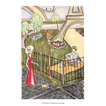 Parijs Vakantiewoningen ik Poster Print by Jennifer Goldberger (13 x 19)