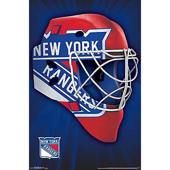 New York Rangers - Maske 16 Poster drucken