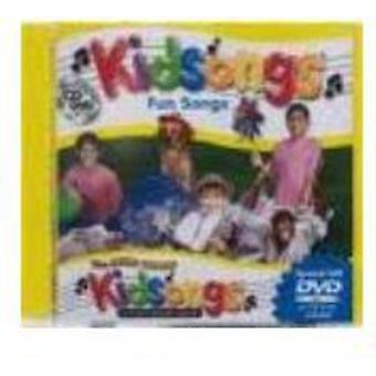 Kidsongs - sjove sange samling [CD] USA importerer