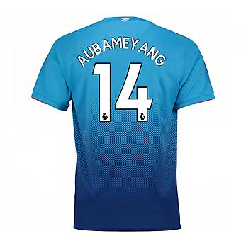 2017-2018 arsenal weg Shirt (Aubameyang 14)