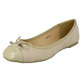 Ladies Spot On Ballerina Shoes