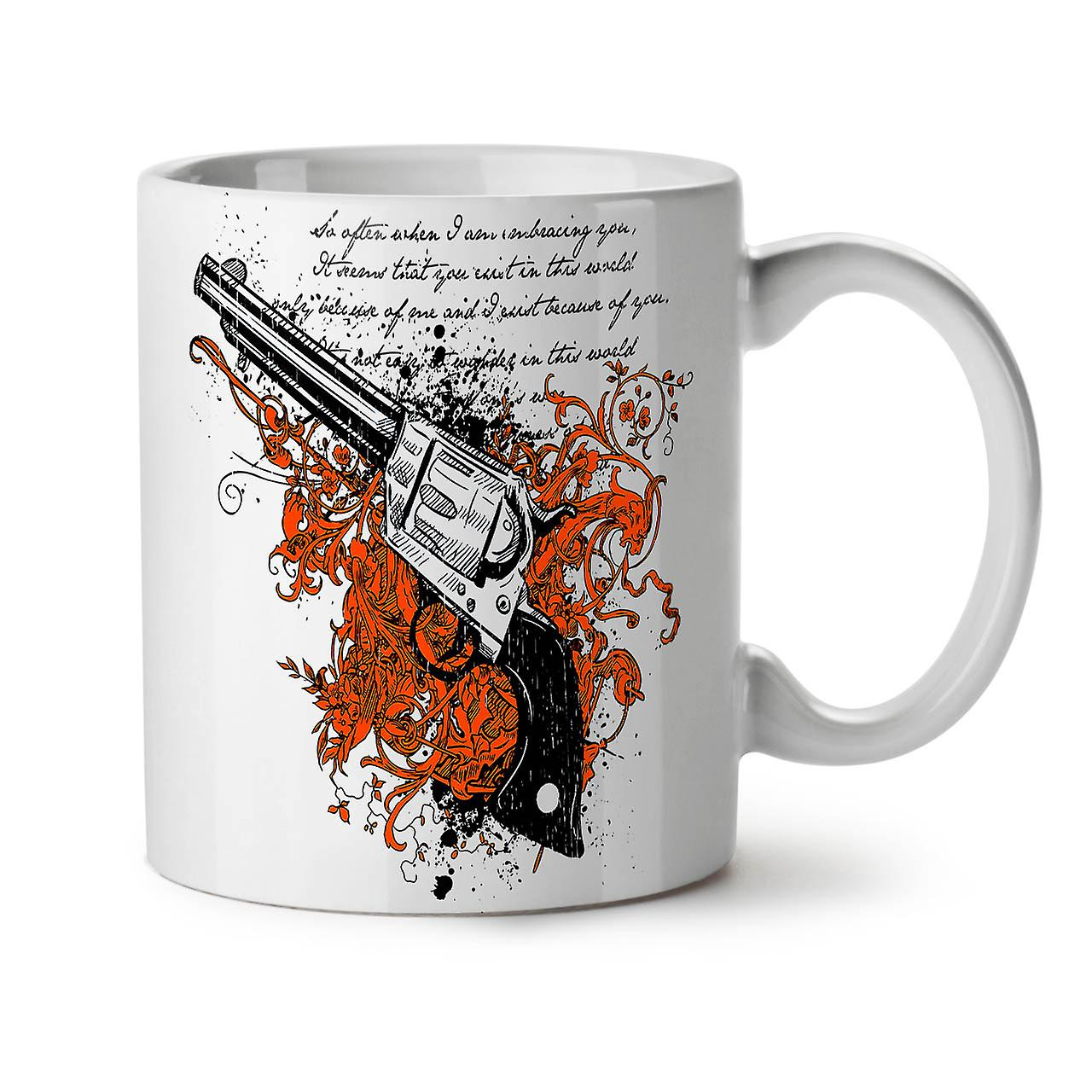Café OzWellcoda Blanc Thé Gangster Nouveau 11 Criminelle Pistolet Céramique Tasse srCdxBthQ