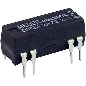 Reed relay 2 makers 12 Vdc 0.5 A 10 W DIP 8