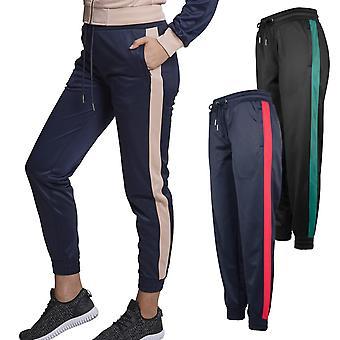 Urban classics ladies - cuff track pants sport fitness pants