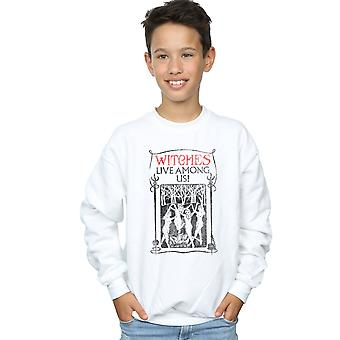 Fantastic Beasts Boys Witches Live Among Us Sweatshirt