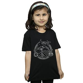 Harry Potter Girls Ravenclaw Seal T-Shirt