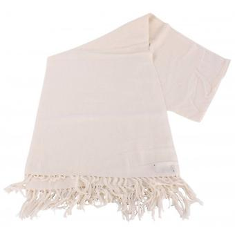 Bassin and Brown Grant Plain Scarf - Cream