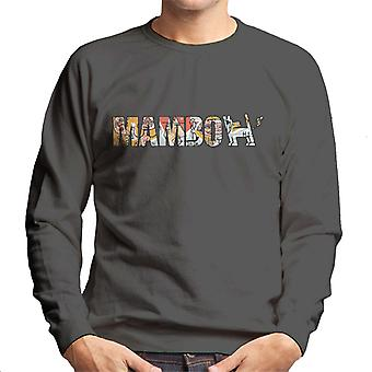 Mambo Raglus Dog Men's Sweatshirt
