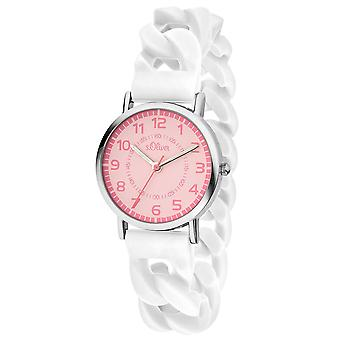 s.Oliver watch kids horloge kids meisje SO-3430-PQ