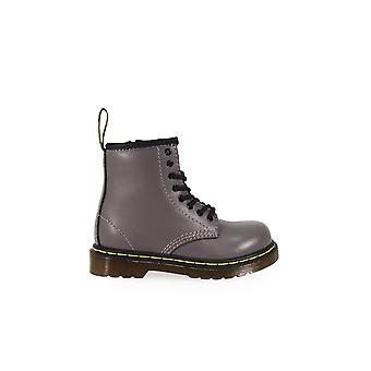 DR. MARTENS BROOKLE LEAD GREY BABY BOOT