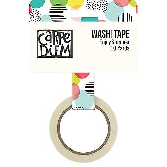 Hello Summer Washi Tape 15Mmx30'-Hello Summer
