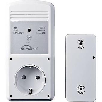 Wallair Wireless descarga conector de control del aire BL220F 3 W blanco