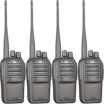 Freenet handheld Transceiver Team elektronische TeCom-SL-PR8572 4-teiliges set
