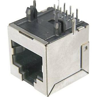 ASSMANN WSW AMJ-188-00101-CAT6 Modular Socket, RJ45, CAT 6 8 RJ45 Socket, horizontal mount Silver