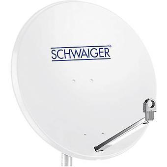 Schwaiger SPI998.0 SAT-Antenne 75 cm reflektierendes Material: Aluminium Light Grey