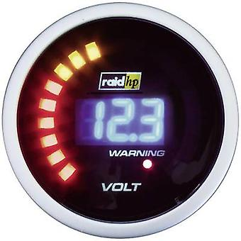 raid hp 660504 Voltmeter 8 to 18V 12V