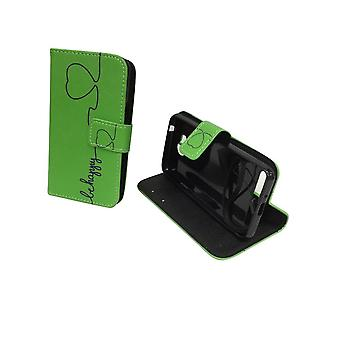 Celular capa case para celular Huawei Y3 II / 2 ser feliz verde