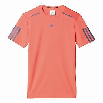 Adidas barricade tennis shirt kids red AX9619