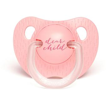 Suavinex Evolution Pacifier Light Pink 6 to 18 Months