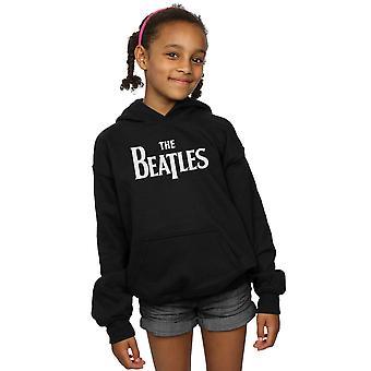 De Beatles meisjes laten vallen T Logo Hoodie
