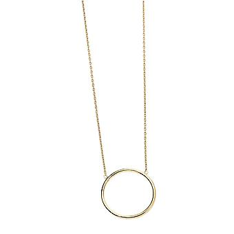 Elements Gold Open Circle Necklace - Gold