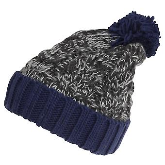Childrens/Kids Knitted Tassel Bobble Hat
