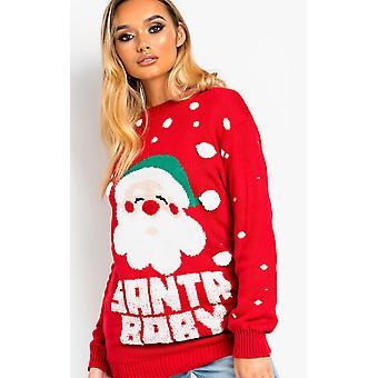IKRUSH mujer Kris Santa Baby Navidad puente
