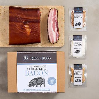 Zelfgemaakte Curing kit... Bacon