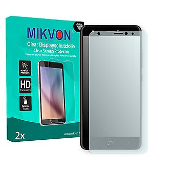 BQ Aquaris X Screen Protector - Mikvon Clear (Retail Package with accessories) (reduced foil)