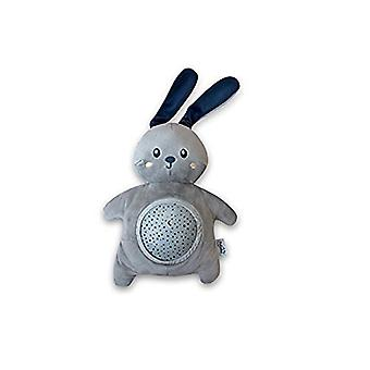 Pabobo Cuddly Mini Bunny Musical Star Projector