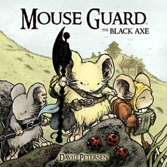 Muis Guard - zwarte bijl door David Petersen - Paul Morrissey - David Pet