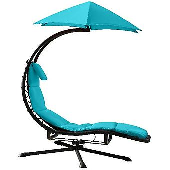 Zweefbed - 360 - Swivel _Lounger - True Turquoise