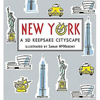 New York: Ein 3D Andenken Stadtbild