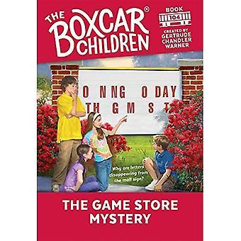 Spelbutiken mysteriet (Boxcar barn)