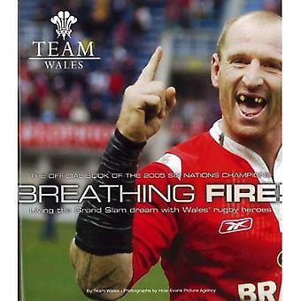 Breathing Fire: Living the Grand Slam Dream with Wales Rugby Heroes - The Official Book of the 2005 Six Nation Champions (Team Wales)