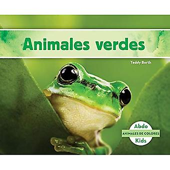 Animales Verdes (Green Animals) (Animales de Colores (Animal Colors))