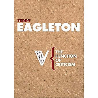 The Function of Criticism (Radical Thinkers)