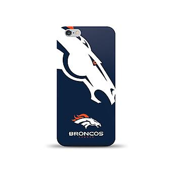 Mizco Sports NFL Oversized Snapback TPU Case for Apple iPhone 6  / 6S (Denver Br