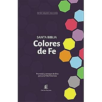 Santa Biblia Rvr77 - Colores de Fe: Promesas y Consejos de Dios Para Una Vida Victoriosa