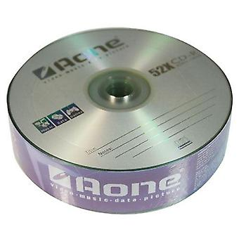 Un CD-R Logo 25 en blanco CDR grabable discos (Pack 4) 100pcs (escritura 52 x)