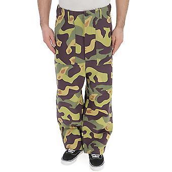 Junya Watanabe Camouflage Cotton Pants