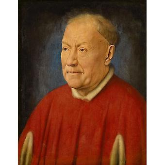 Cardinal Niccolo Albergati, Jan Van Eyck, 34,1 x 27,3 cm